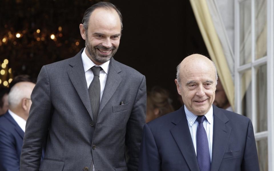 Le Premier ministre aux côtés du maire de Bordeaux