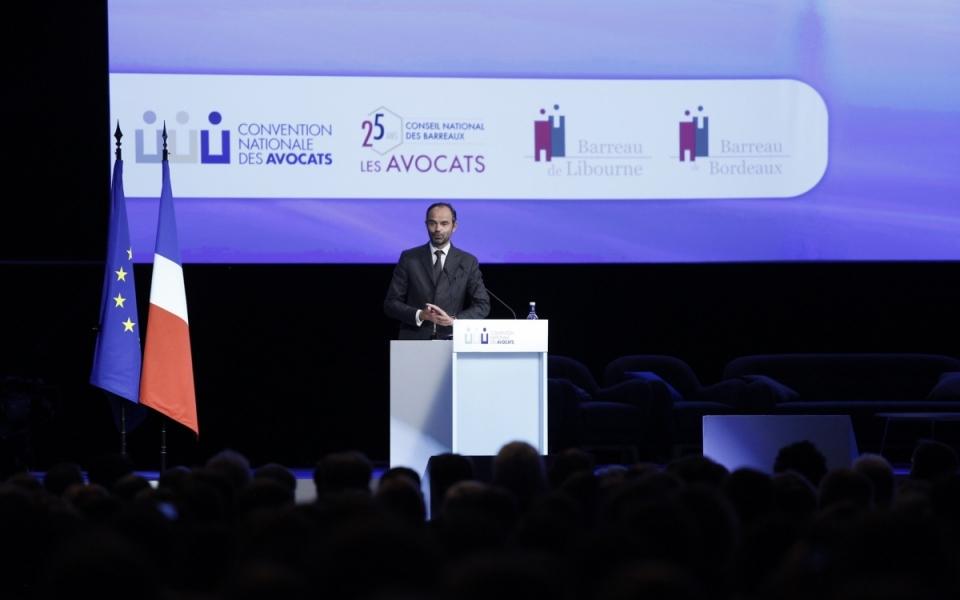 Discours du Premier ministre à la Convention nationale des avocats
