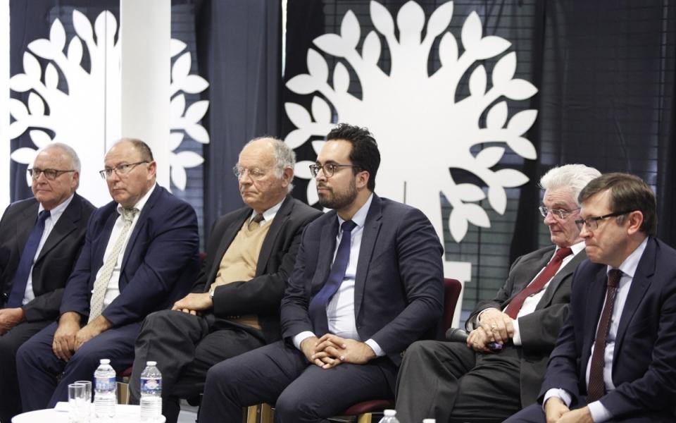 Le secrétaire d'État, Mounir Mahjoubi, à la Conférence des Territoires décentralisée