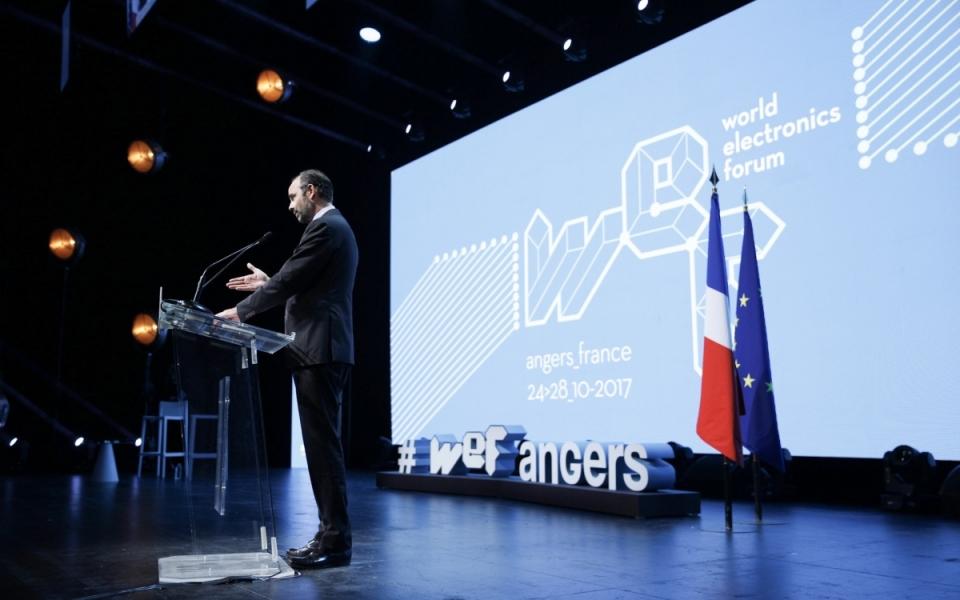 Le Premier ministre au World Electronic Forum à Angers