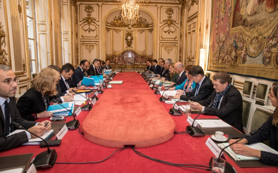 Le Premier ministre a également présenté le délégué interministériel dont la mission sera d'assurer le pilotage stratégique de la politique d'aide aux victimes.