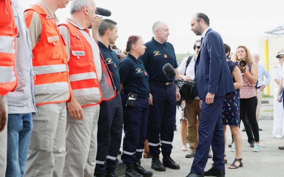 06/11 - Rencontre avec les FORMISC et les personnels de la Croix Rouge
