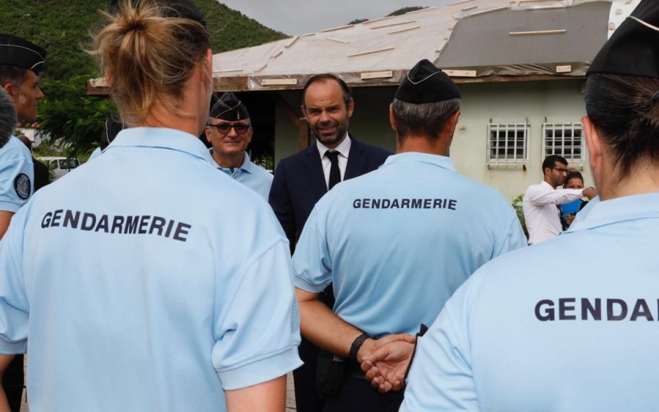 06/11 - Échanges avec les gendarmes réservistes de la compagnie de réserve territoriale (CRT)