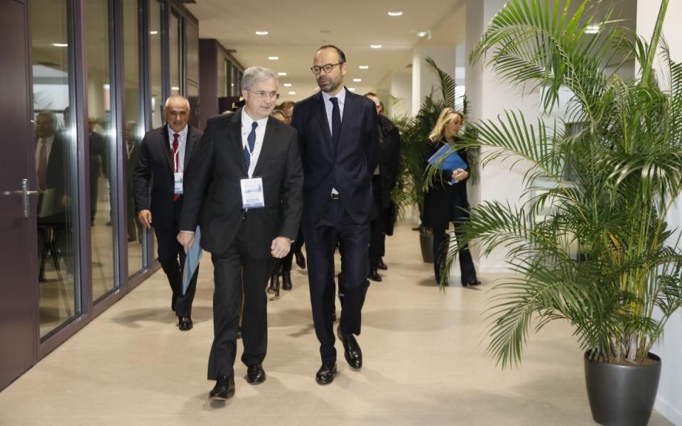 Le Premier ministre et Frédéric Moncany de Saint-Aignan se rendent à l'ouverture des Assises