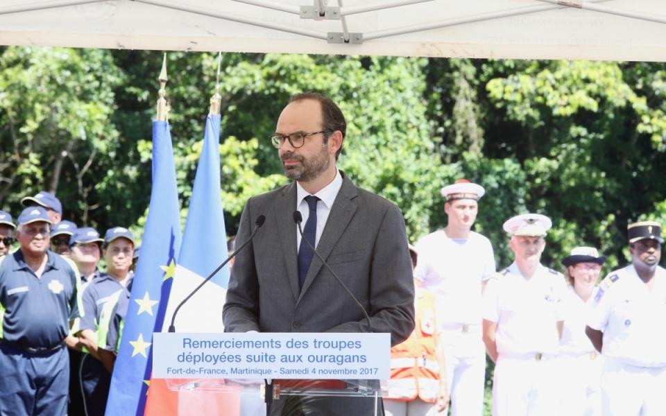 Le Premier ministre a tenu à adresser un message de remerciements aux services qui sont intervenus dans les Antilles françaises suite aux ouragans