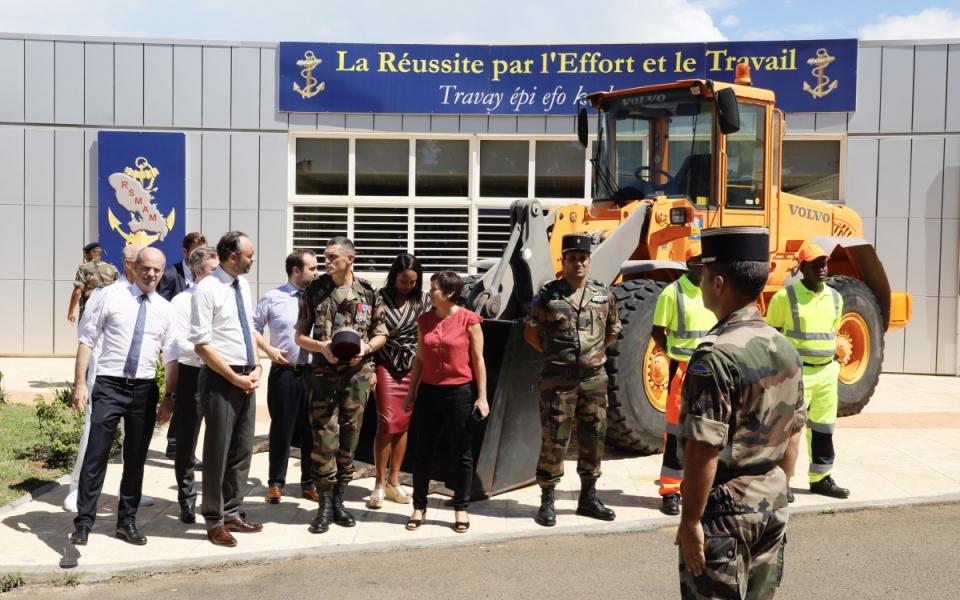 Les jeunes du RSMA présentent leurs filières de formation aux membres du Gouvernement