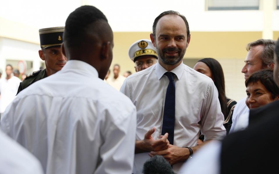 Les jeunes de filière hôtelerie présentent leur formation au Premier ministre