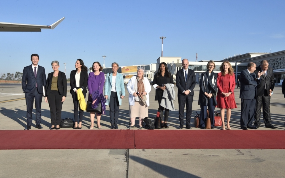 The Ministers visiting Morocco alongside the Prime Minister