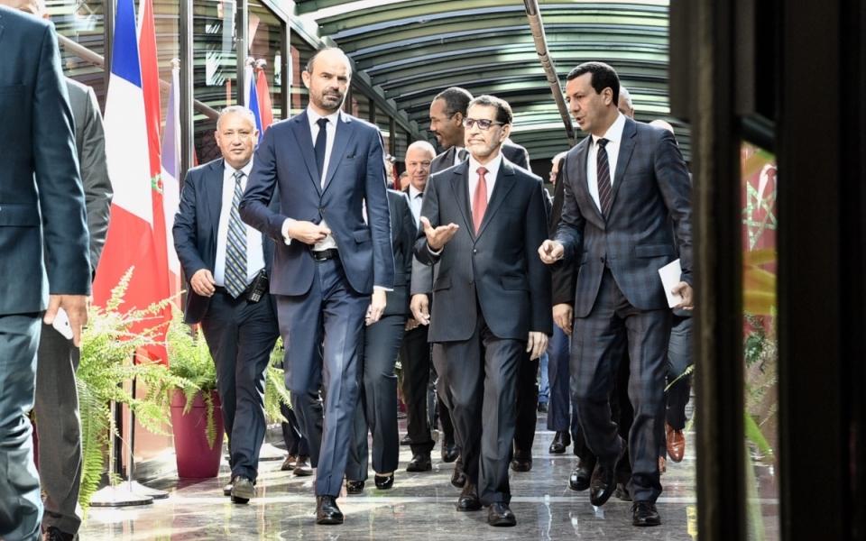 Arrivée du Premier ministre au ministère des Affaires étrangères et de la Coopération internationale