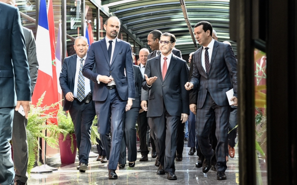The Prime Minister arrives at the Ministry of Foreign Affairs and International Cooperation