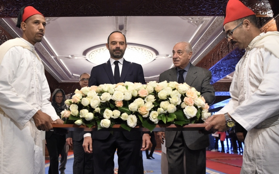Wreath-laying ceremony at the Mohammed V Mausoleum