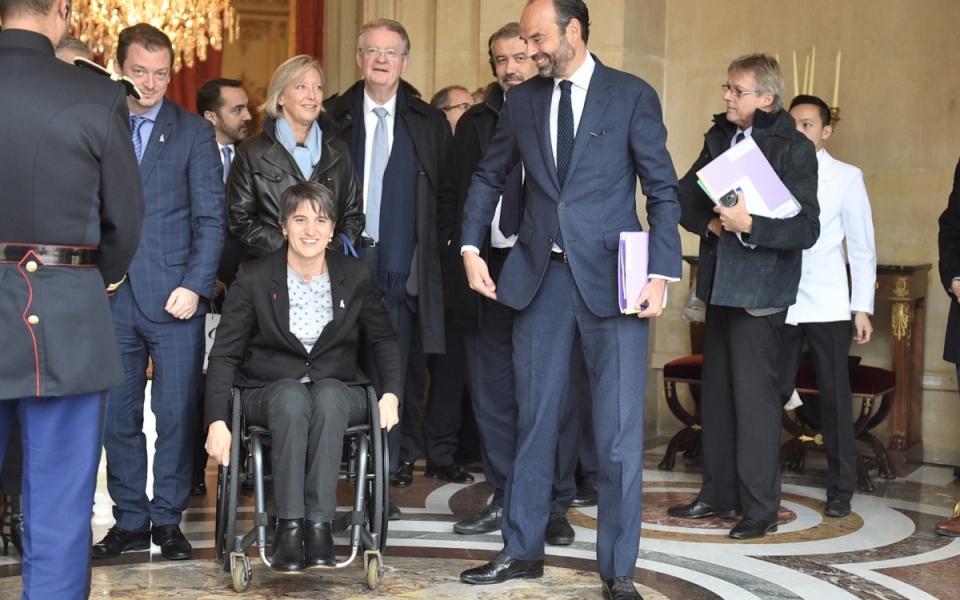Le Premier ministre s'est entretenu avec Andrew Parsons, Président du Comité international paralympique