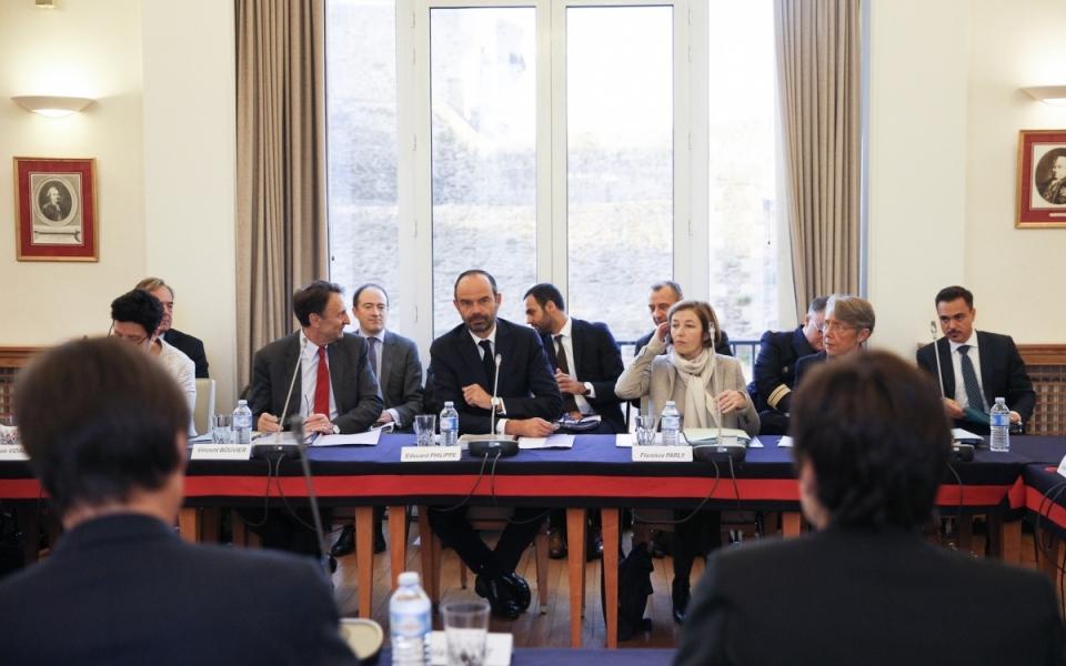Le Premier ministre préside le Comité interministériel de la mer, réuni à Brest