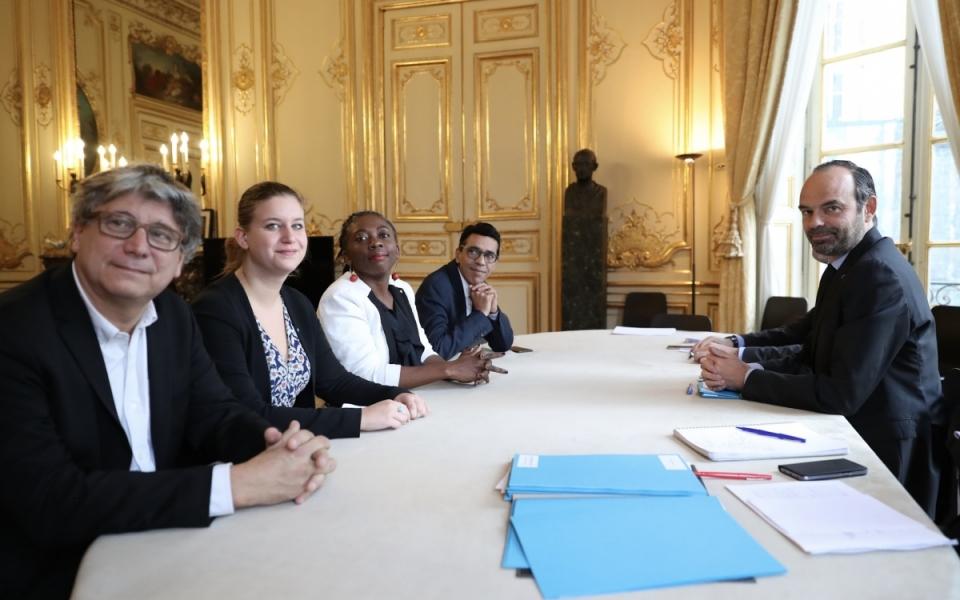 Entretien avec les représentants du groupe La France Insoumise