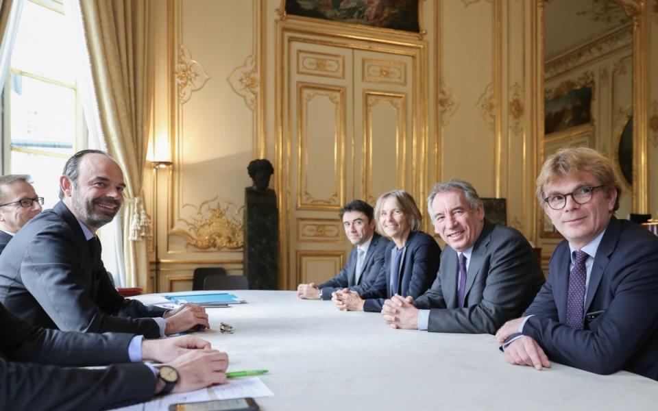 Entretien avec François Bayrou, président du mouvement démocrate