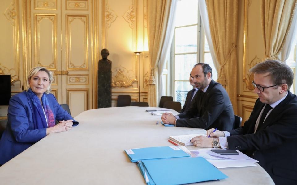 Entretien avec Marine Le Pen, présidente du Front national