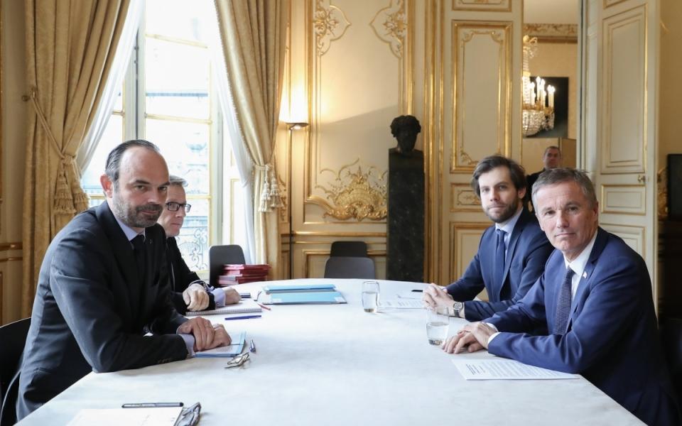Entretien avec Nicolas Dupont-Aignan, président de Debout la France
