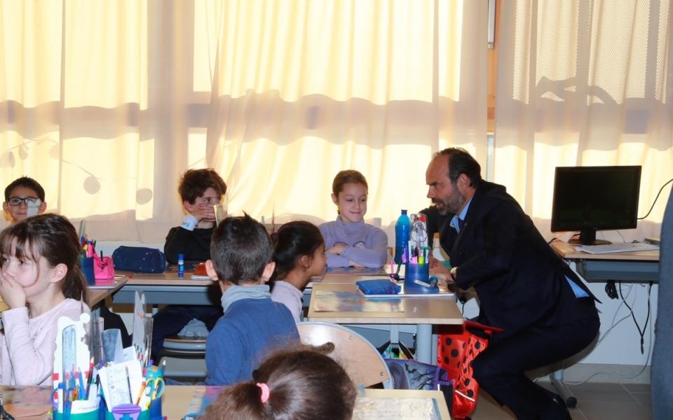 En visite à l'école Rouet Charles-Allé