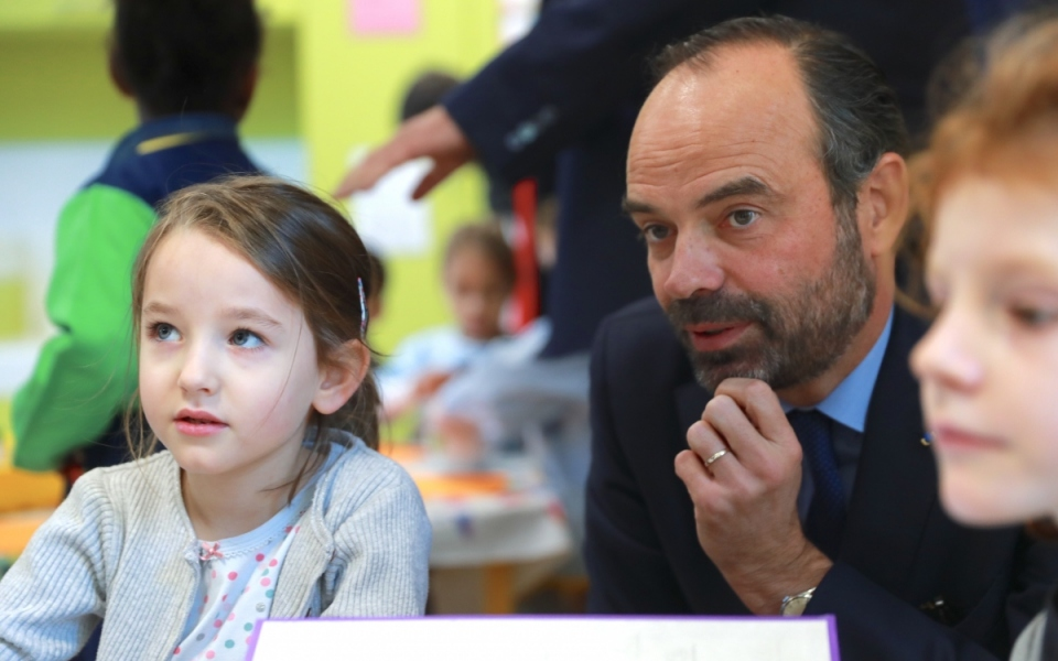 En visite à l'école Sainte-Marthe Audisio