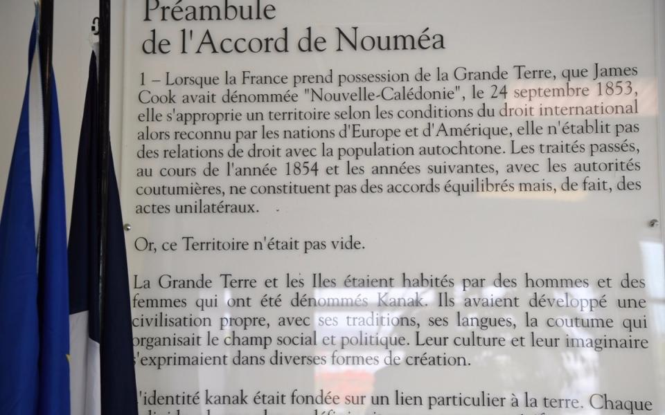 02/12/17 - Extrait des Accords de Nouméa.