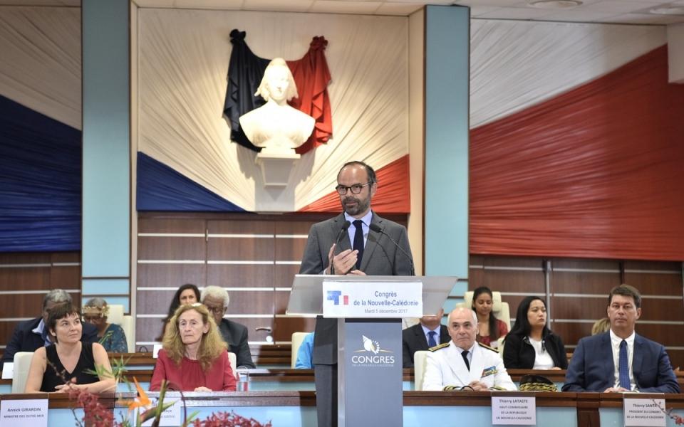 05/12/17 - Province Sud - Discours du Premier ministre devant le Congrès de la Nouvelle-Calédonie.