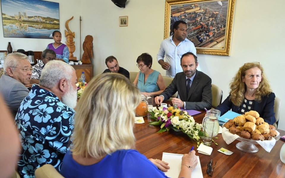 04/12/17 - Koné Hôtel de la Province Nord - Echanges avec le président de l'Assemblée de la Province Nord.