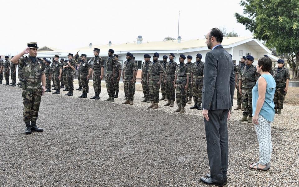 04/12/17 - Koumac - Rencontre avec les jeunes du service militaire RSMA