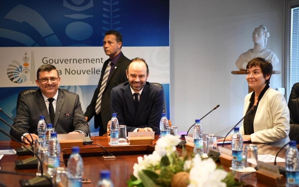 02/12/17 - Rencontre avec le Gouvernement de la Nouvelle-Calédonie