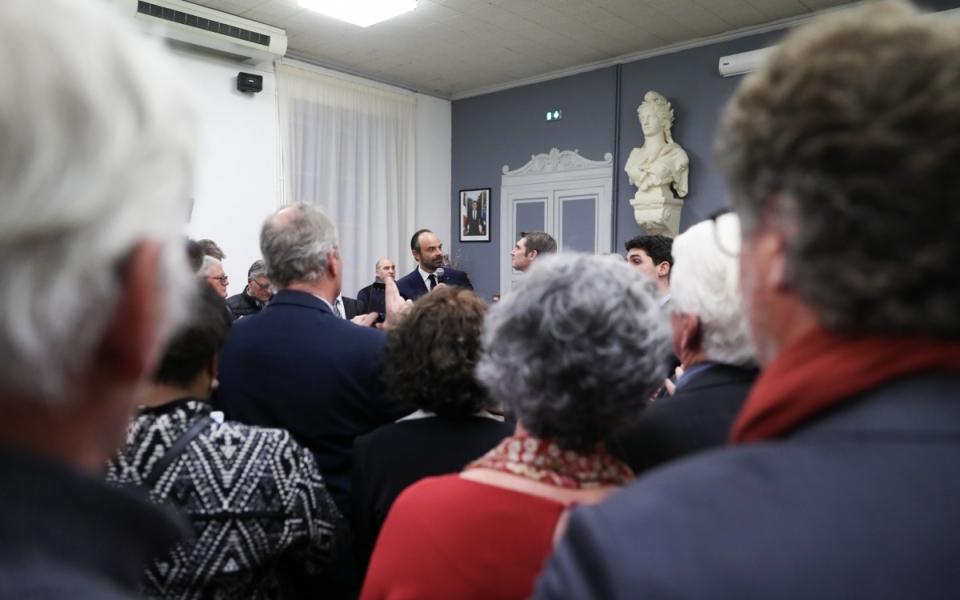 Accueil à la mairie de Cahors