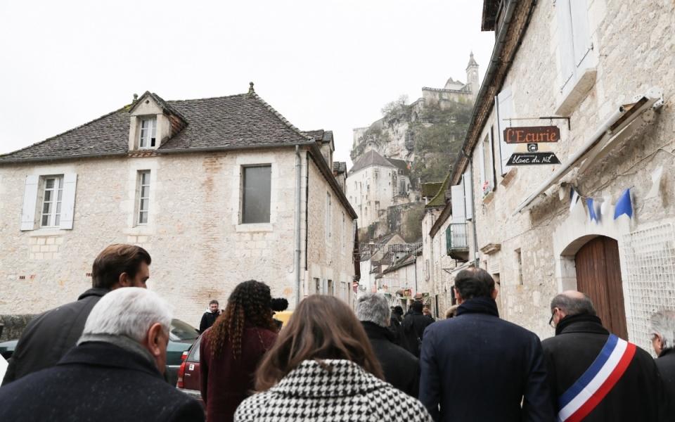 Rocamadour - Arrivée à Rocamadour