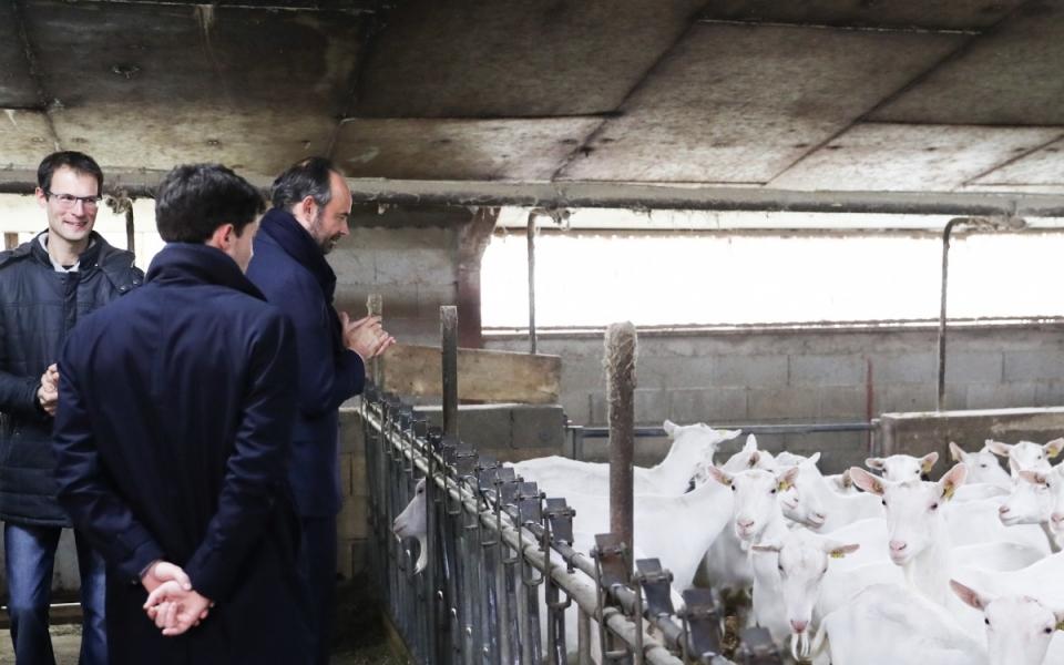 Rignac - Le Premier ministre a visité une exploitation avant de rencontrer l'ensemble des syndicats agricoles du Lot