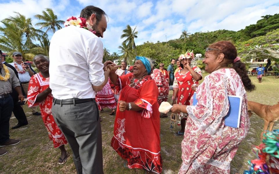 03/12/17- Lifou Tribu de Tiga - Echanges avec la population.