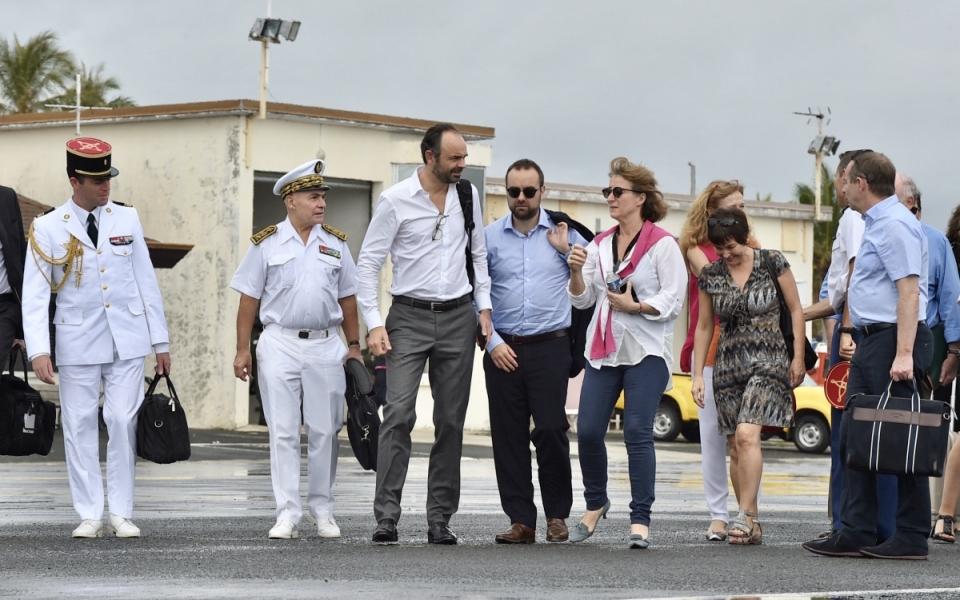 03/12/17 - Lifou Tribu de Wetr - Arrivée du Premier ministre dans la Province des îles Loyauté sur l'île de Lifou.