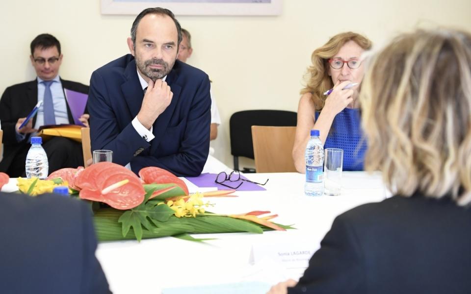 02/12/17 - Echanges avec Sonia Lagarde, maire de la ville de Nouméa, ville capitale de la Nouvelle-Calédonie.