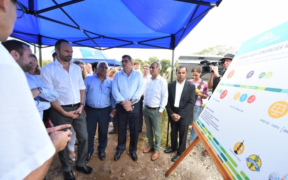 03/12/17 - Présentation des installations de la station photovoltaïque de Hapetra.