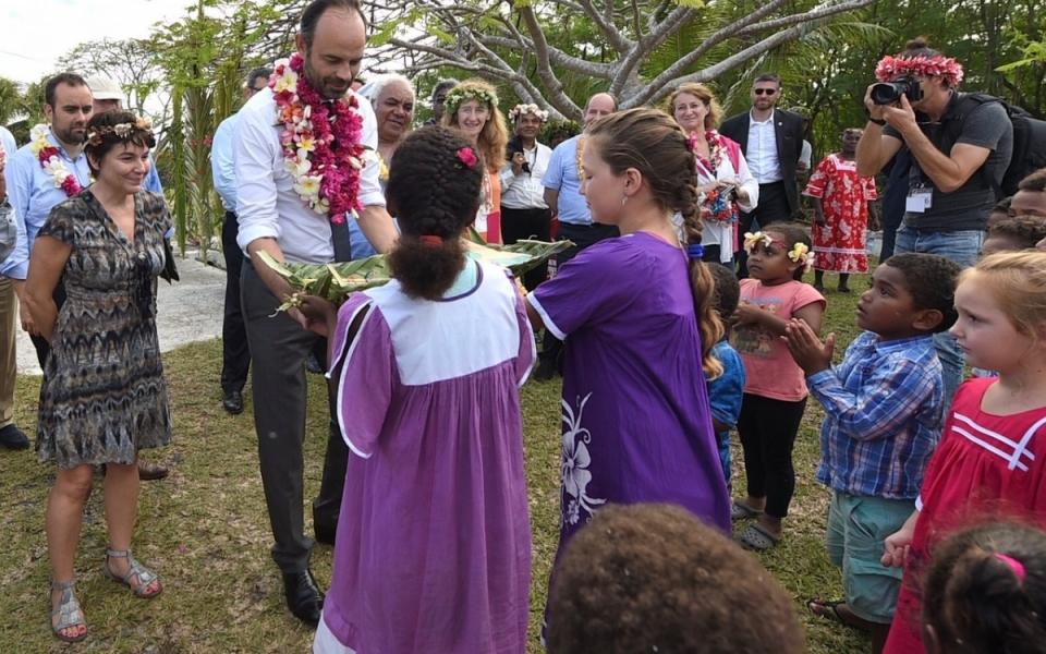 03/12/17- Lifou Tribu de Tiga - Echanges avec les enfants.