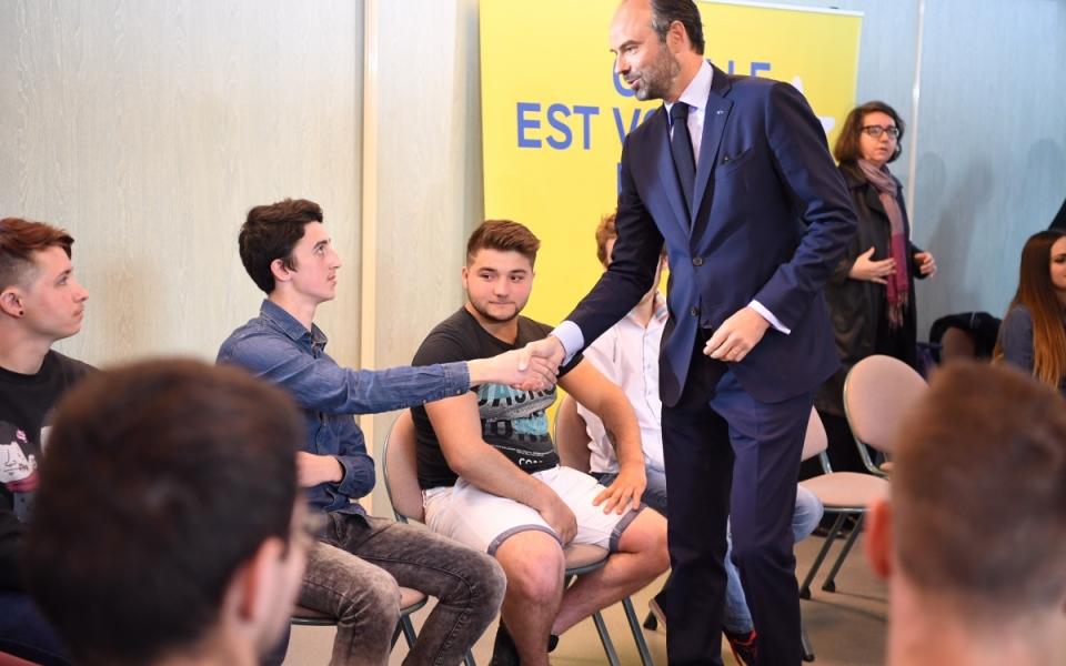Consultation citoyenne sur l'Europe avec les apprentis du CFAI