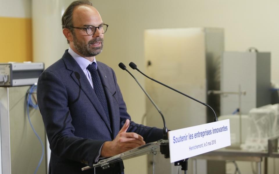 Le Premier ministre annonce des mesures pour les entreprises innovantes - 3 mai 2018.