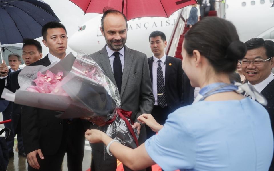 Le 22 juin 2018 : accueil du Premier ministre
