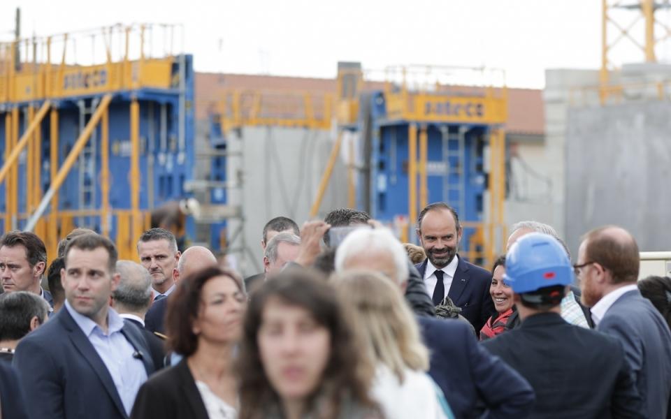 07/06 - Présentation des projets du programme de rénovation urbaine du quartier du Mirail, dont les chantiers de la future école Simone Veil et du futur EHPAD Bellefontaine