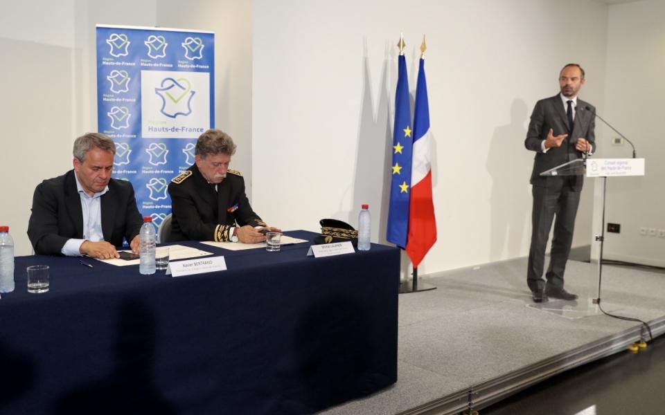 Discours d'Edouard Philippe au Conseil régional des Hauts-de-France