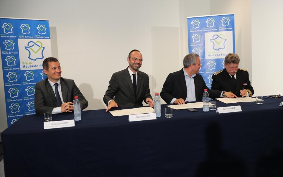 Edouard Philippe au Conseil régional des Hauts-de-France