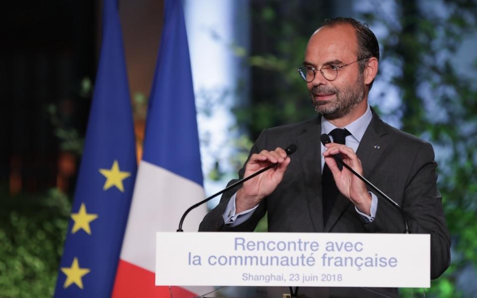 Le 23 juin 2018 : Discours du Premier ministre devant  la Communauté française de Shanghai.
