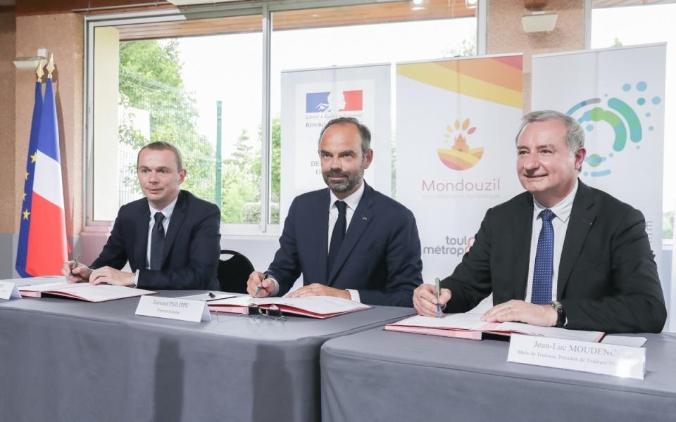 07/06 - Signature du contrat de maîtrise de la dépense locale entre l'État et Toulouse métropole