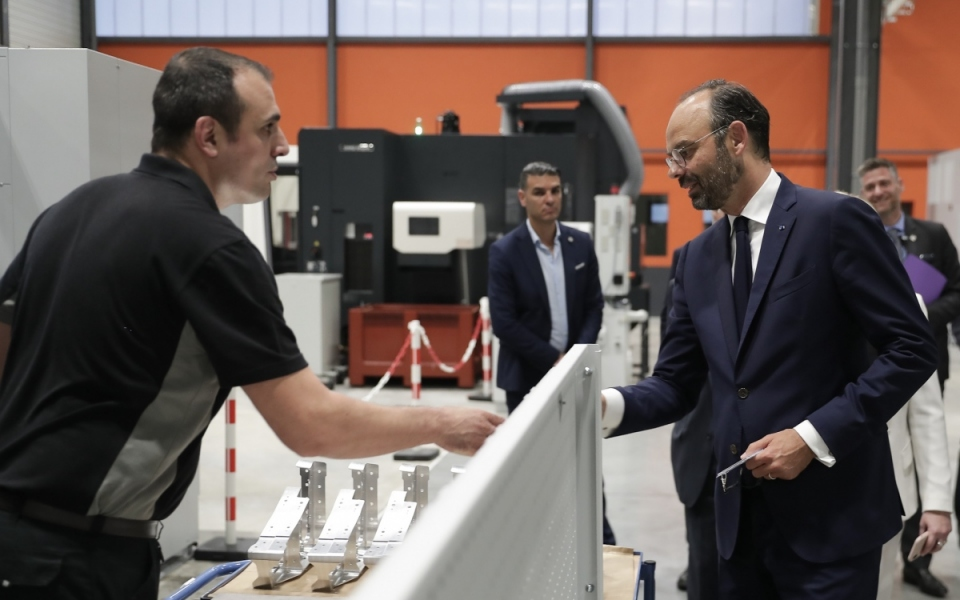 07/06 - Visite de l'usine Rossi Aéro à Villeneuve-les-Bouloc