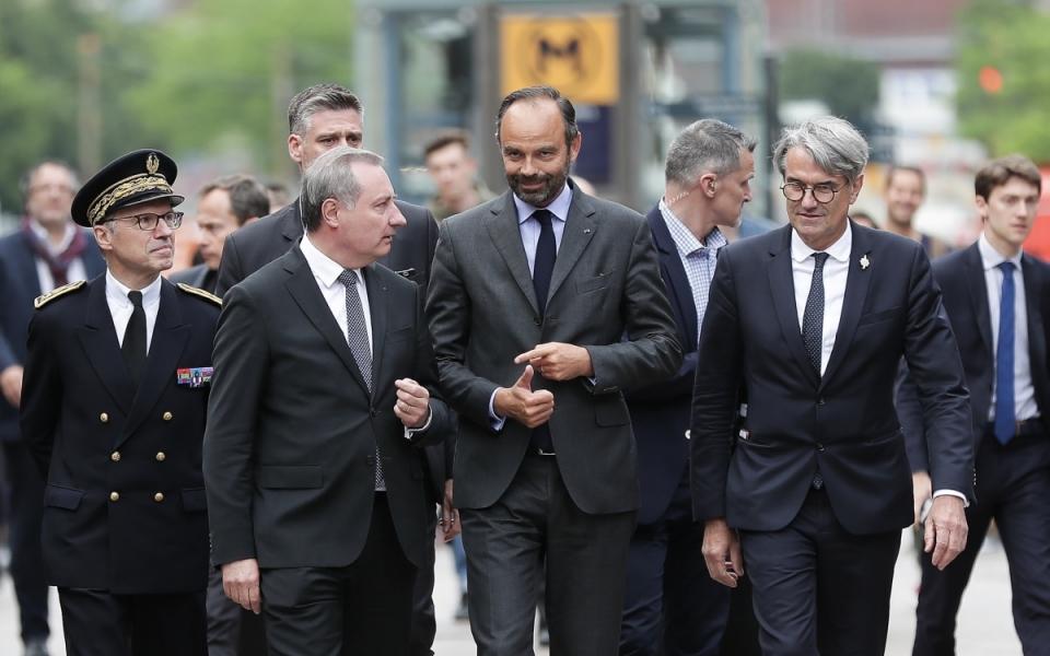 06/06 - Arrivée du Premier ministre à Toulouse