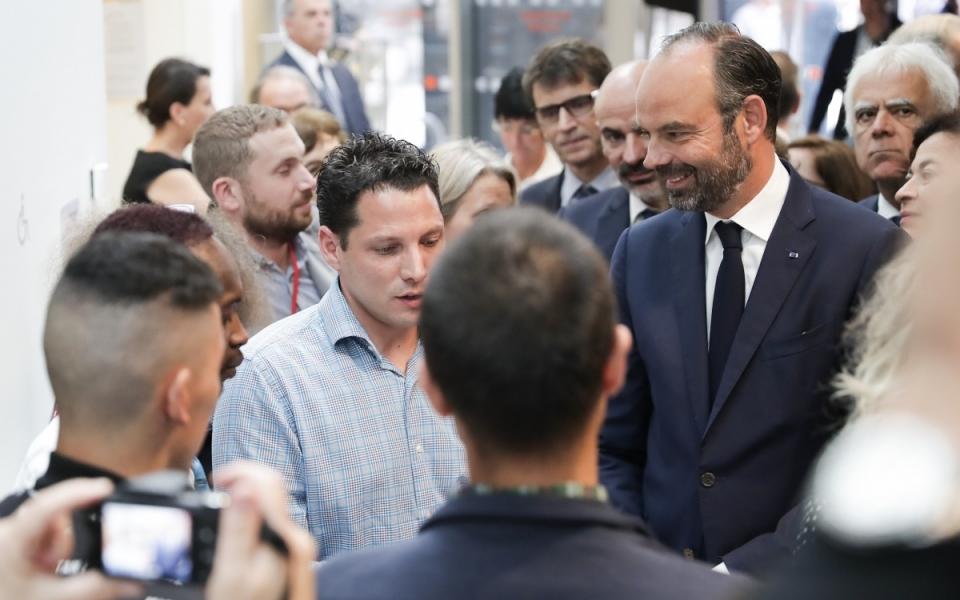"""07/06 - Visite du Forum """"développement économique et emploi des quartiers"""""""