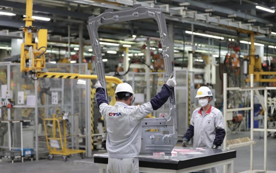 Le 22 juin 2018 : 1 100 salariés assemblent environ 1 000 véhicules par mois dans cette usine inaugurée il y a cinq ans.