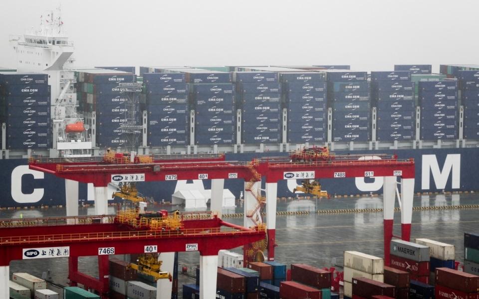 Le 23 juin 2018 : visite du porte-conteneurs du groupe français CMACGM, un des leaders mondiaux du maritime