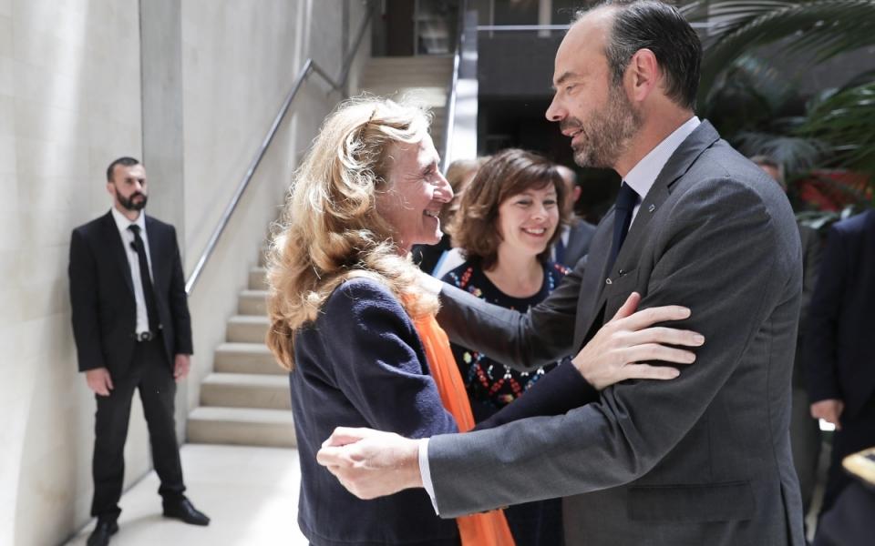 08/06 - Le Premier ministre et la garde des Sceaux, ministre de la Justice, Nicole Belloubet